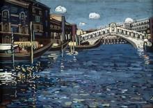 Мост Риалто, Венеция - Кандинский, Василий Васильевич
