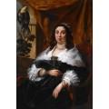 Портрет знатной дамы - Йорданс, Якоб