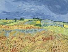 Поля (The Fields with Dark Clouds), 1890 - Гог, Винсент ван