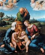 Святое семейство - Рафаэль, Санти