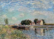 Канал в Сен-Мамесе - Сислей, Альфред