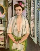 Женщина с книгой - Матисс, Анри