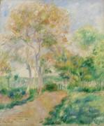 Осенний пейзаж - Ренуар, Пьер Огюст