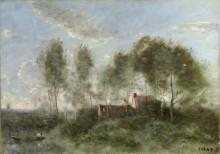 Воспоминание о путешествии в Куброн - Коро, Жан-Батист Камиль