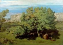 Время сбора винограда в Орнане - Курбе, Гюстав