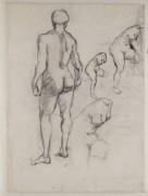 Идол и зарисовки Венеры (Idol and Sketches of Venus), 1886 - Гог, Винсент ван