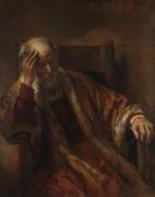 Старик в кресле. Последователь Рембрандта