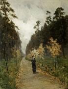 Осенний день. Сокольники. 1879 - Левитан, Исаак Ильич