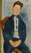Мальчик в полосатом свитере - Модильяни, Амадео