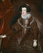 Портрет королевы Изабеллы - Веласкес, Диего