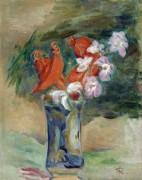 Букет с орхидеями - Ренуар, Пьер Огюст