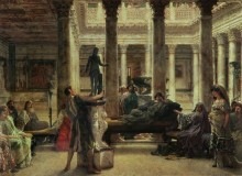 Ценители искусства Древнего Рима - Альма-Тадема, Лоуренс