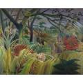 Нападение в джунглях - Руссо, Анри
