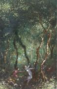 Танцующие фигуры в лесу - Рассел, Джордж