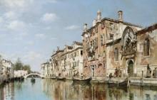 Канал в Венеции - Кампо, Федерико дель