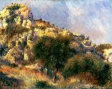 Скалы в Эстаке - Ренуар, Пьер Огюст