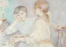 За пианино - Моризо, Берта