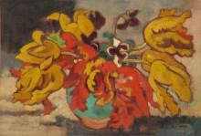 Тюльпаны в зеленой вазе - Вальта, Луи