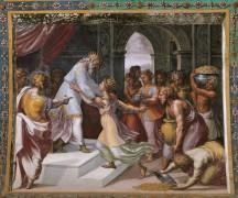 Соломон и царица Савская - Рафаэль, Санти