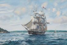 Торговое судно покидает Мэн - Кросс, Рой