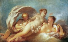 Три грации - Фрагонар, Жан Оноре