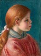 Портрет девушки - Ренуар, Пьер Огюст