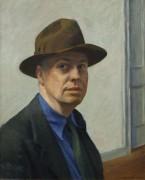 Автопортрет - Хоппер, Эдвард