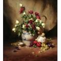Белые и красные розы - Ридель, Давид