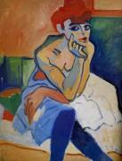 Женщина в рубашке - Дерен, Андре