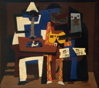 Три музыканта - Пикассо, Пабло