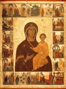 Икона Б.М. Смоленская с житием Богородицы (ок.1450) (139 х 105 см)