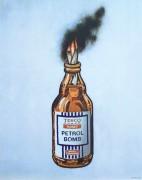 Зажигательная бомба Теско - Бэнкси
