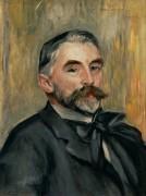 Портрет поэта Стефана Малларме - Ренуар, Пьер Огюст
