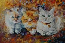Три кота - Афремов, Леонид (20 век)