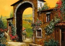 Арка в деревне - Борелли, Гвидо (20 век)