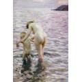 Первое купание (С мамой) - Цорн, Андерс