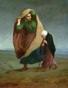 Женщина с ребенком - Милле, Жан-Франсуа