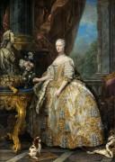 Мария Лещинская, королева Франции - Лоо, Шарль ван