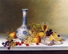 Натюрморт с фруктами и вазой династии Мин - Ходриэн, Рой