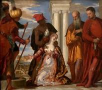 Мученичество святой Юстины - Веронезе, Паоло (Калиари)