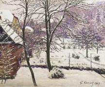 Сад под снегом, 1947 - Кариот, Густав