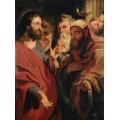 Христос и Никодим - Йорданс, Якоб