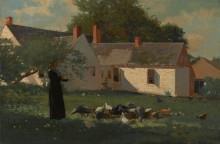 Сценка на ферме - Хомер, Уинслоу