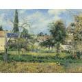Сад Мобусьон, Понтуаз, 1881 - Писсарро, Камиль
