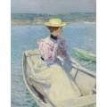 Белая рыбацкая лодка. Глочестер, 1895 - Хассам, Фредерик Чайлд
