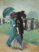 Элегантные дамы на скачках -  Роб, Мануэль