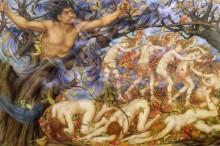 Борей и опавшие листья - Морган, Эвелин де