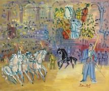 Цирковое представление с лошадьми - Дюфи, Жан