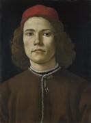 Портрет юноши - Боттичелли, Сандро