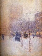 Зимний Нью-Йорк. 1900 - Гассам, Чайльд